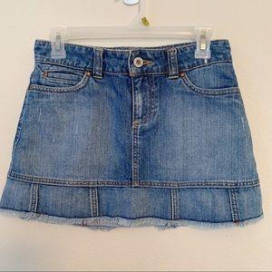 Old Navy | Denim Mini Skirt Low Waist with Flare